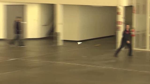 Joe Ayoob Sets the Paper Airplane World Record
