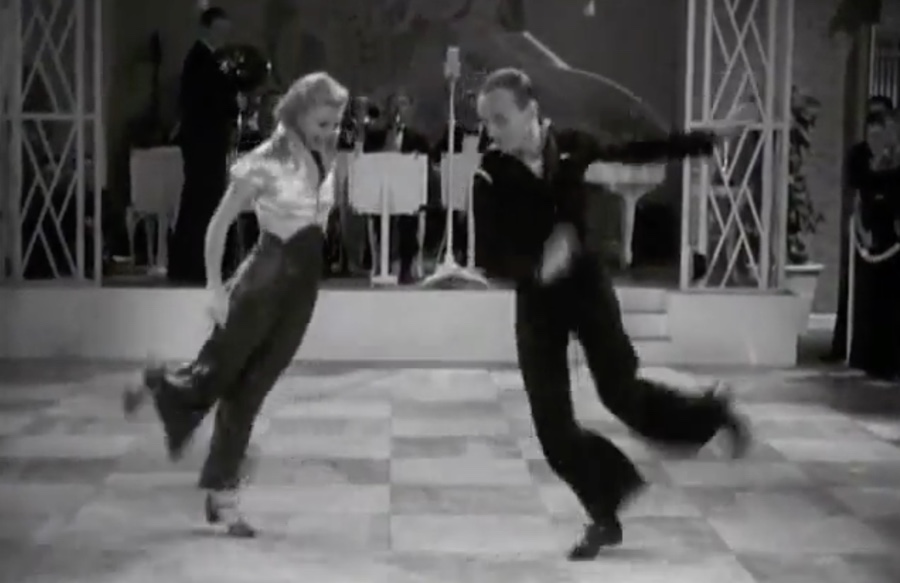 Fred Astaire And Ginger Rogers Let Yourself Go The Kid Should See This
