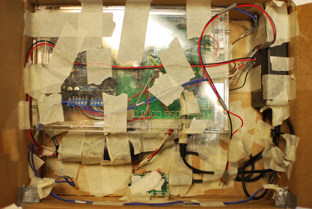 hidden camera in the postal system