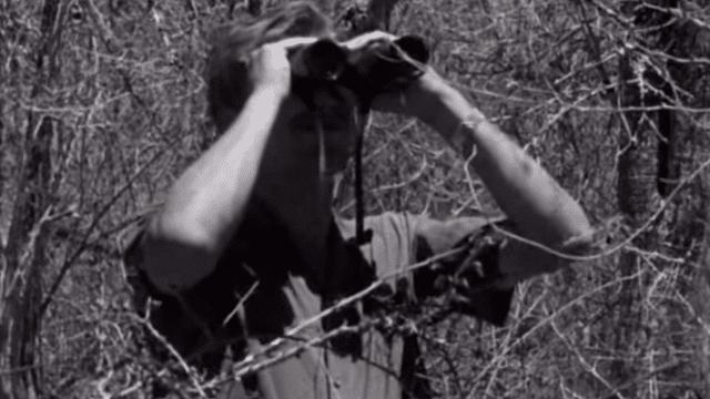 Sir David Attenborough and chameleons in Madagascar