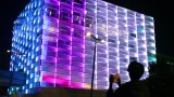 Puzzle Facade: a building-sized Rubik's Cube-style puzzle