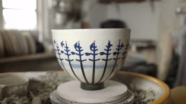 Experimental animation meets pottery: zoetrope bowl
