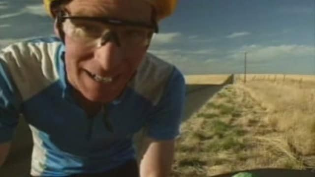 Bill Nye Bikes the Distance Between Planets