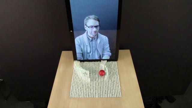 inFORM, a shape-shifting 3-D display