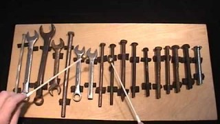 Beethoven's Ninth on a Toolbox Glockenspiel