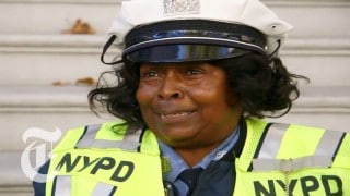 Mentoria Hutchinson, NYPD's Dancing Traffic Cop