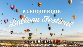 Albuquerque's Balloon Fiesta time lapsed