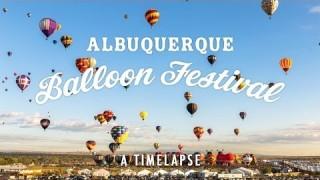 Albuquerque's 2013 Hot Air Balloon Fiesta, a time lapse
