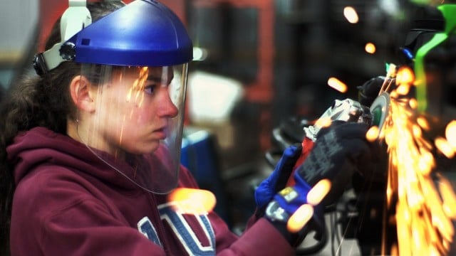 Kathryn DiMaria rebuilds her Pontiac Fiero