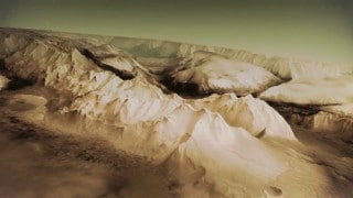 Mars Express: a topographic model of Mars