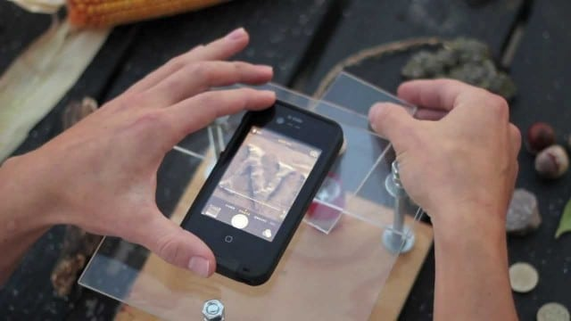 Turn your smartphone into a digital microscope for around $10