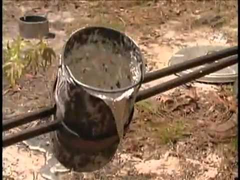 Pouring 1200F molten aluminum into an anthill?
