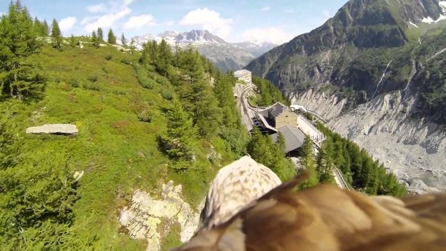 Take a ride on an eagle's back over France's Rhone-Alpes