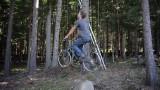 Bicycle Powered Tree House Elevator
