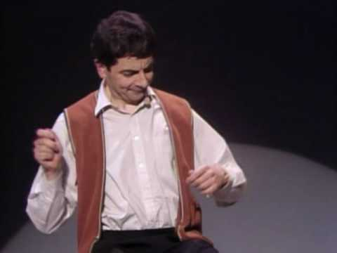 Rowan Atkinson: Invisible Drum Kit