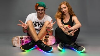 How to make LED sneakers – Adafruit Wearables