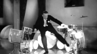 Nice Work If You Can Get It –Fred Astaire on drums