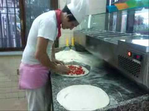 How pizza is made