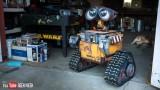 A real, life-size Wall-E Robot