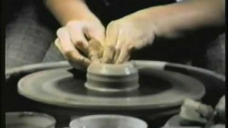 Sesame Street: Spinning clay on a pottery wheel