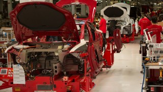 Behind the Scenes of How the Tesla Model S is Made