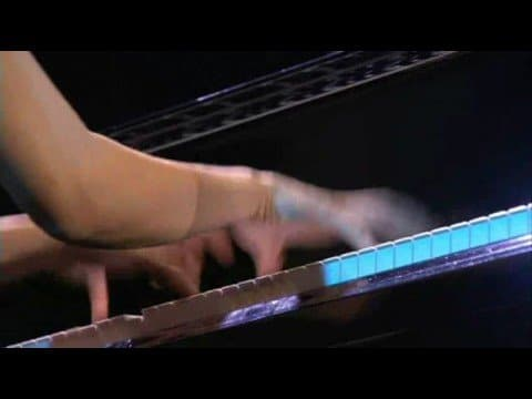 Pianist Yuja Wang plays Flight of the Bumblebee