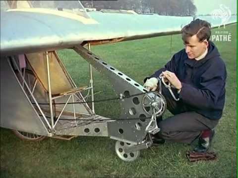 British Pathé: Flying Bicycle (1962)