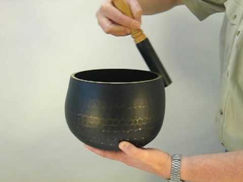 What does a Tibetan Singing Bowl sound like?