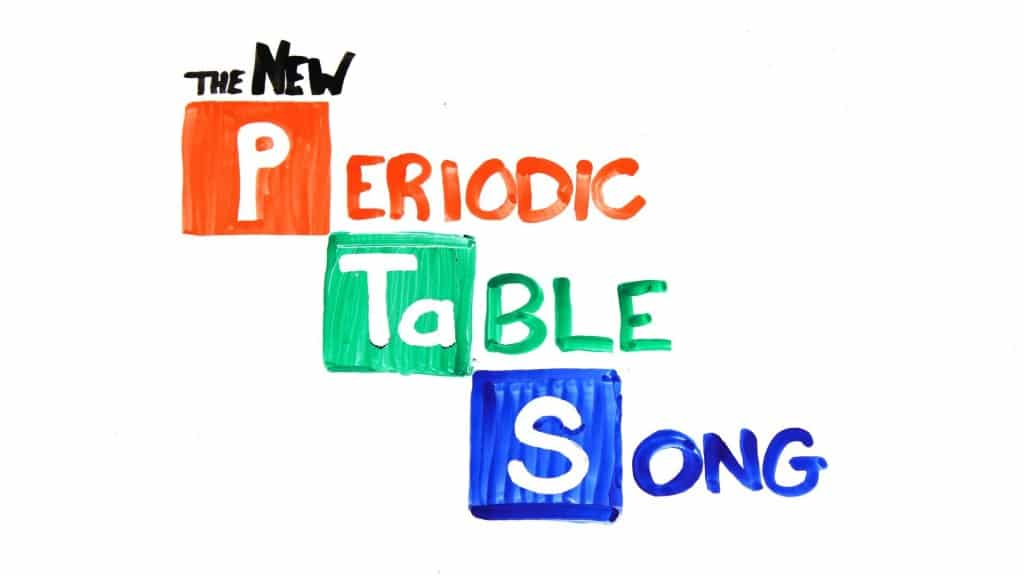 Periodic Table periodic table of elements videos youtube : The NEW Periodic Table Song – AsapScience   The Kid Should See This