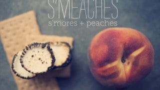 S'mores + peaches = Smeaches