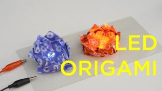 DIY: How to Make LED Origami