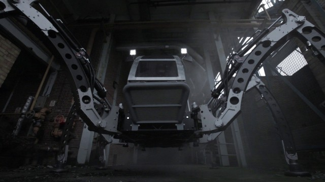 A Massive Mantis Turbo Diesel Hexapod Walking Machine