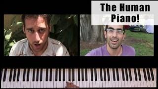 The Human Piano: Super Mario Bros. Theme