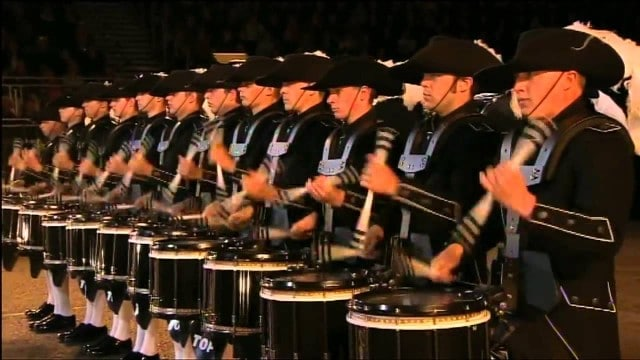 Top Secret Drum Corps – Edinburgh Military Tattoo (2012)
