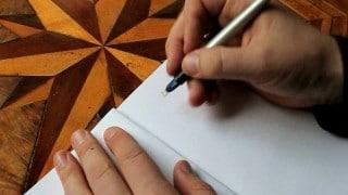 Sketchbook: Medieval blackletter calligraphy