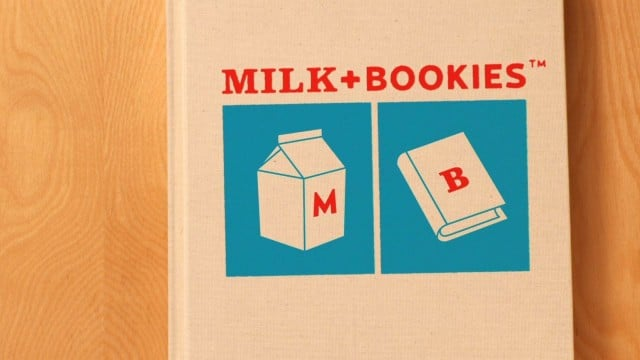Milk + Bookies: Read, Give, Grow