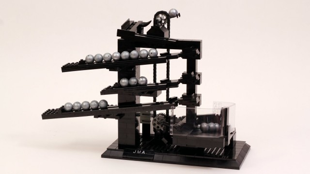 LEGO Rolling Ball Clock