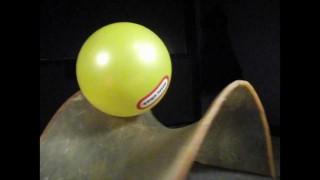 Rotating Saddle, a physics demonstration