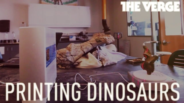 Printing dinosaurs: the mad science of new paleontology