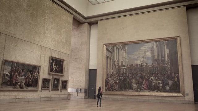 Path of Beauty –Exploring Paris' empty Musée du Louvre alone