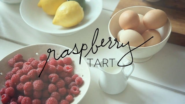 The Cook's Atelier: Raspberry Tart