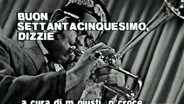 Dizzy Gillespie – I Can't Get Started + Manteca (1960)