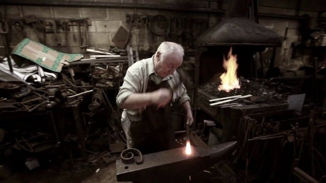 Britain's Longest-serving Blacksmith