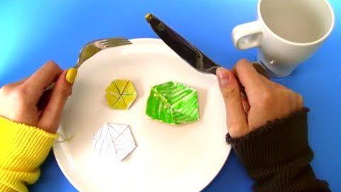 Vi Hart's Hexaflexagon