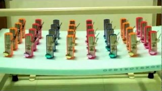 Physics! 32 out-of-sync metronomes synchronize