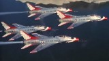 Footage of the U.S. Air Force Thunderbirds in 1959