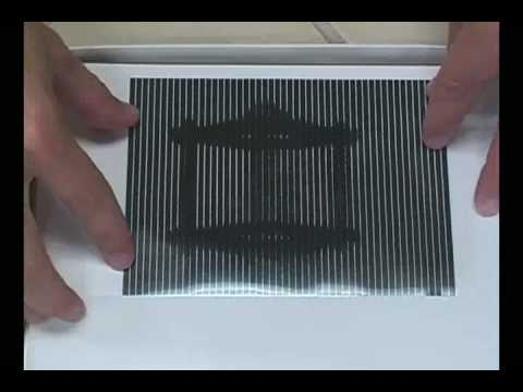 Scanimated Optical Illusion