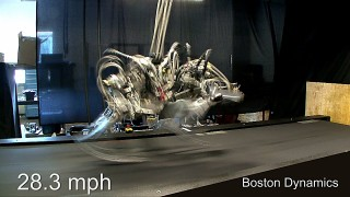 Boston Dynamic's Cheetah Robot