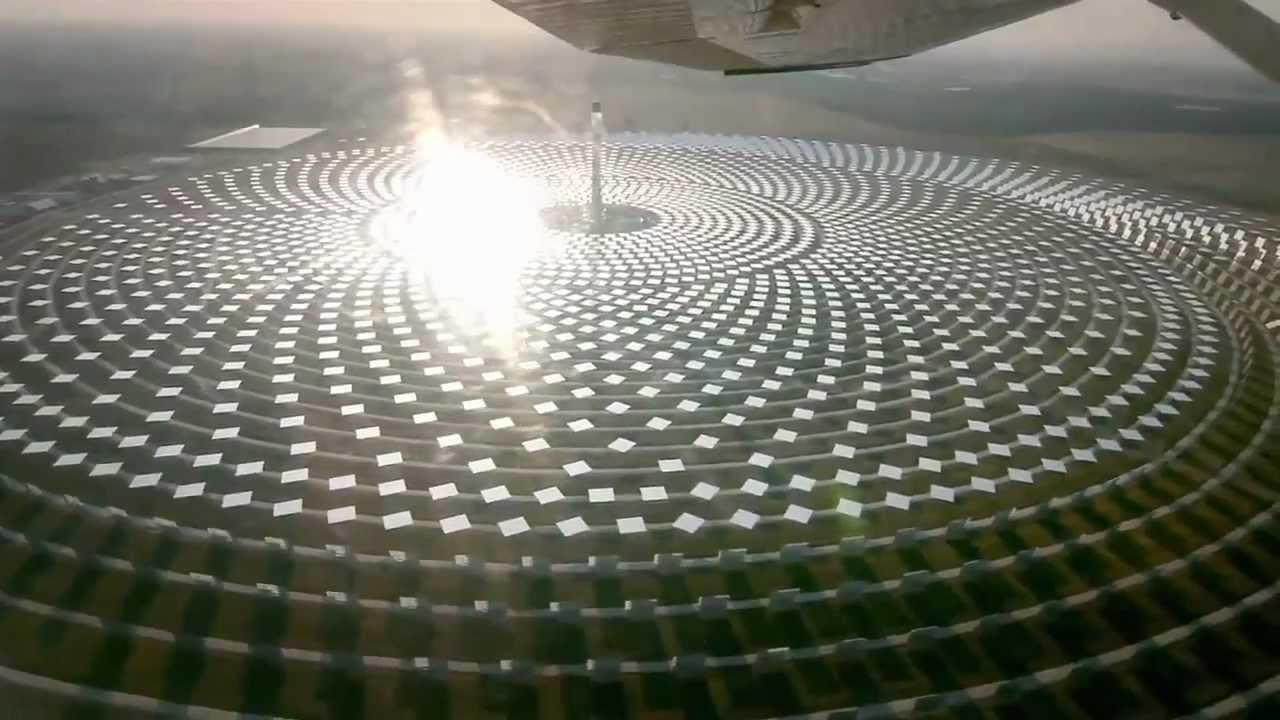 24 7 Concentrated Solar Thermal Power Molten Salt