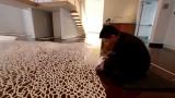 Motoi Yamamoto's intricate, temporary salt installations